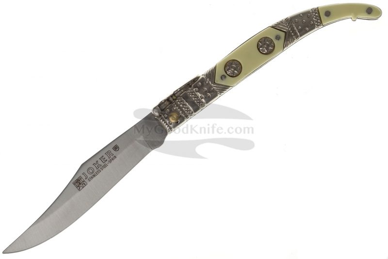 Photo #1 Folding knife Joker Clasica Decorada  N102B 8cm