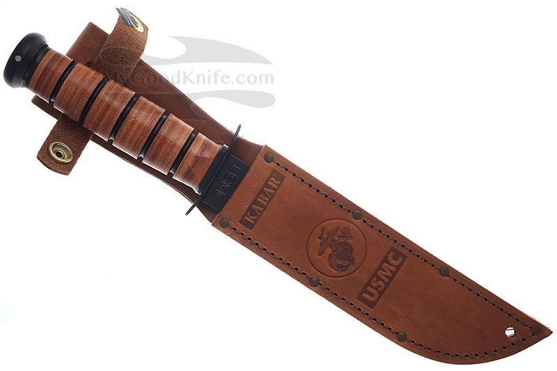 Photo #3 Ka-Bar Full-size USMC, Straight Edge 1217