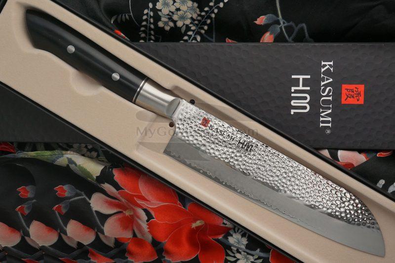 Valokuva #3 Japanilainen keittiöveitsi Santoku Kasumi HM 74018 18cm