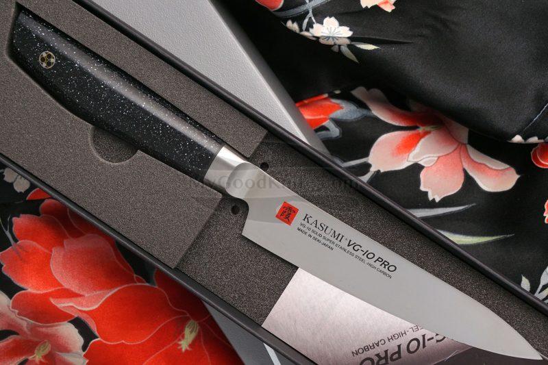 Photo #1 Utility kitchen knife Kasumi VG10 Pro Petty 52012 12cm