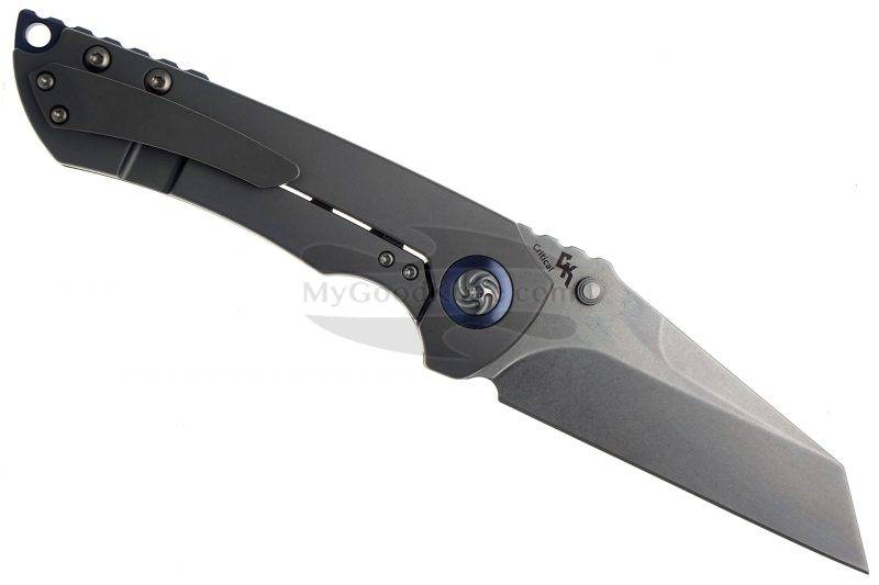 Фотография #2 Складной нож Kizer Cutlery Critical Thumb studs Ki4508A1 9.1см