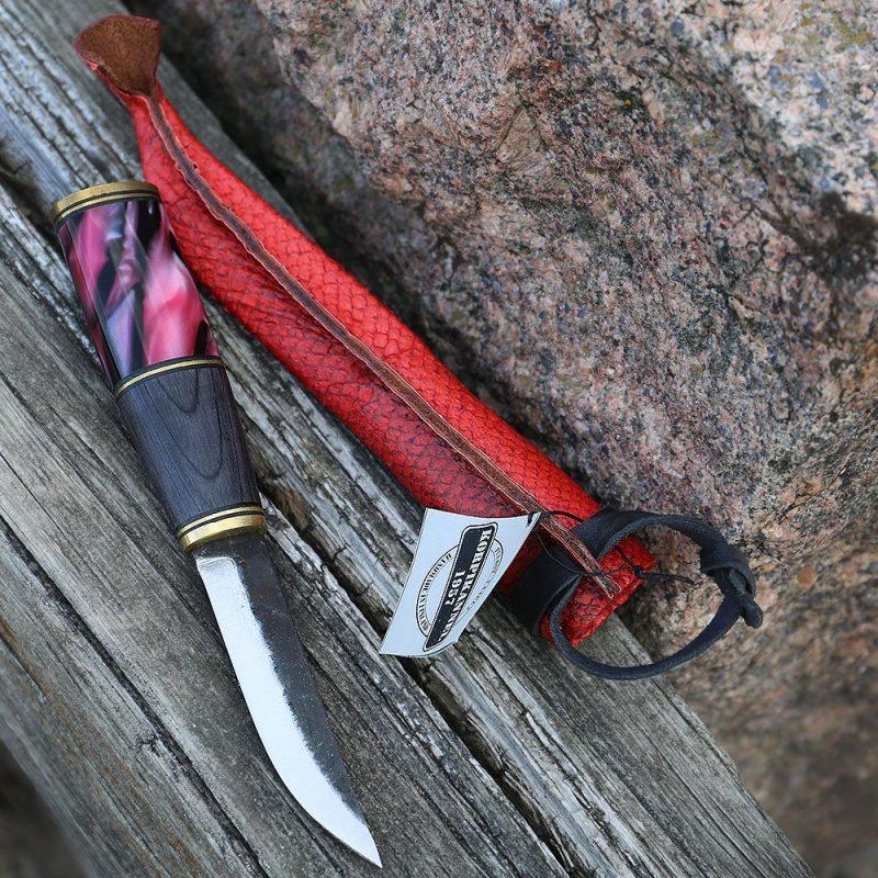 Фотография #6 Korpikannel финский нож, акрил