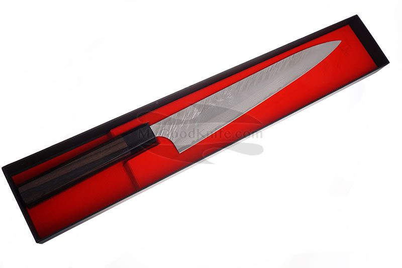 Photo #1 Sujihiki Japanese kitchen knife Yu Kurosaki Fujin VG-10 Damascus Series ZVD-270SL 27cm