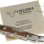 Фотография #1 Нож Лагиоль Laguiole en Aubrac 10 см, кактус L0210CA2IFSJ1