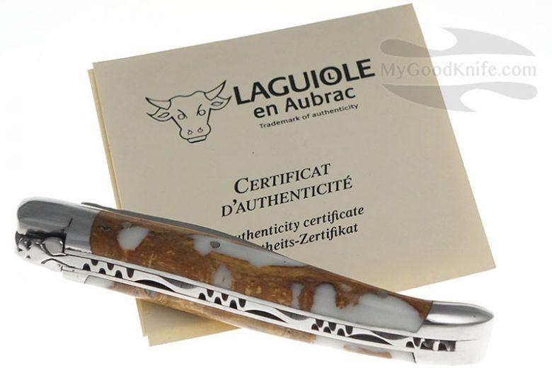 Фотография #3 Нож Лагиоль Laguiole en Aubrac 10 см, кактус L0210CA2IFSJ1