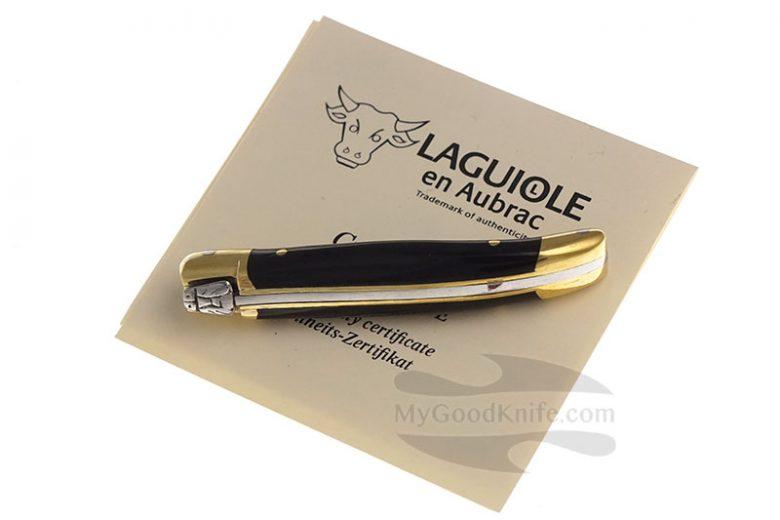 Фотография #3 Нож Лагиоль Laguiole en Aubrac 7 cm Pressed Horn L0207CPLSSI1