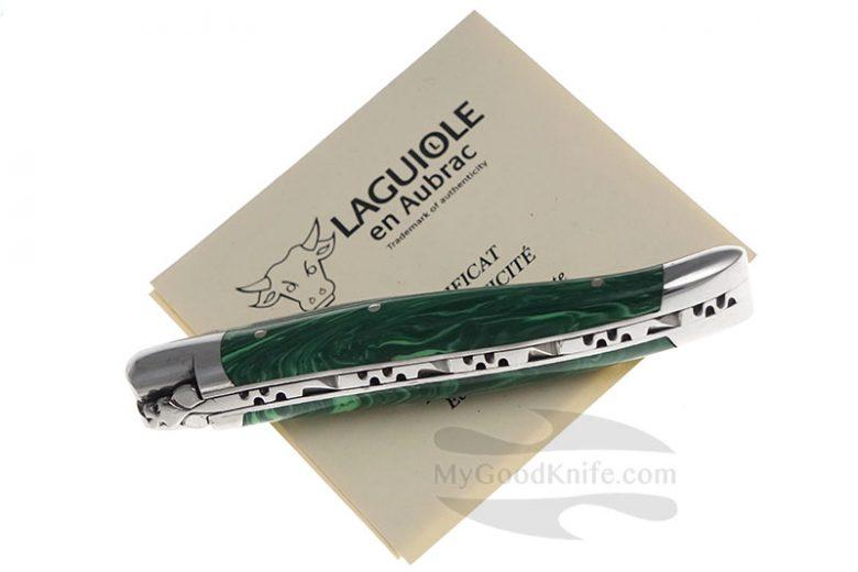 Photo #3 Laguiole en Aubrac 10 cm Malachite L0210PMIFSI1