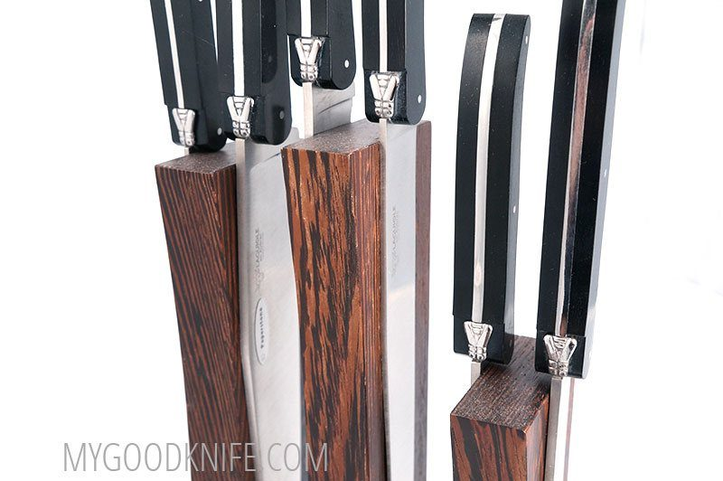 Photo #1 Laguiole En Aubrac Kitchen Knife Block (COL99KITPP)