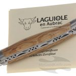 Photo #1 Laguiole en Aubrac 10 cm Green Oak L0210GOIFSB1
