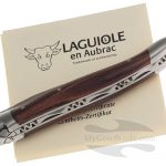 Фотография #1 Нож Laguiole en Aubrac 10 cm Violetwood L0210VLIFSB1