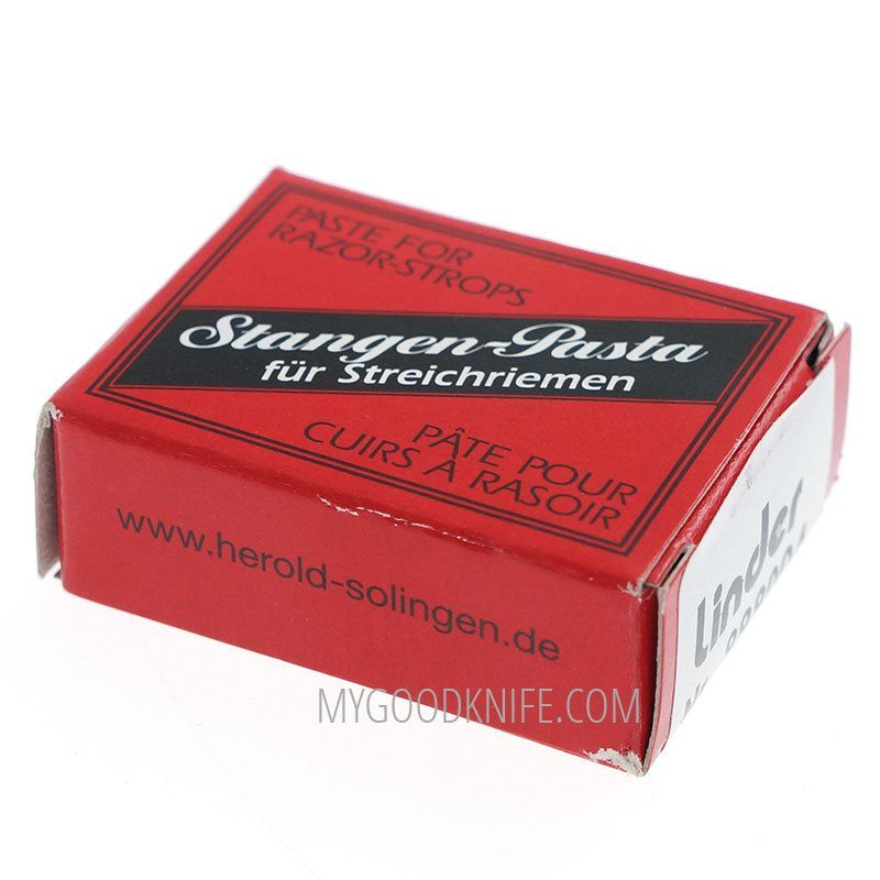 Фотография #1 Herold Solingen Паста для заточки опасных бритв (красная/черная) 000000203654