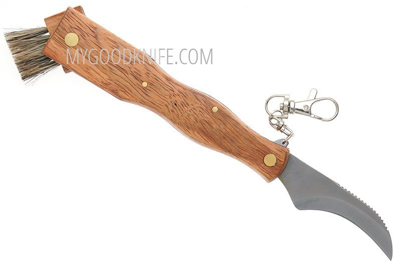 Photo #1 Linder Folding Mushroom Knife, Rosenwood (331813)