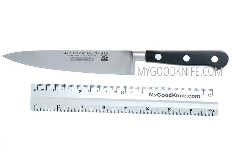 Photo #2 Chef's knife Martinez&Gascon French Forged 15 sm (0601)