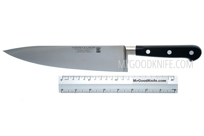 Фотография #3 Martinez&Gascon French Forged Поварской  нож, 22,5 см