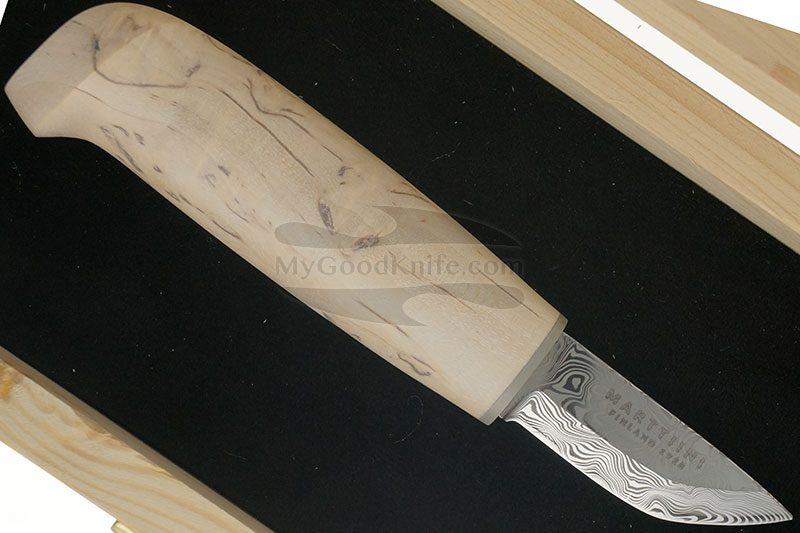 Фотография #1 Финский нож Marttiini Ice Crystal Damascus  558010W 10см