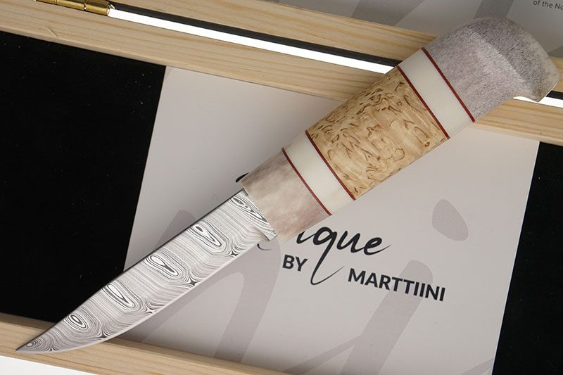 Photo #1 Finnish knife Marttiini Unique  559012W 10cm