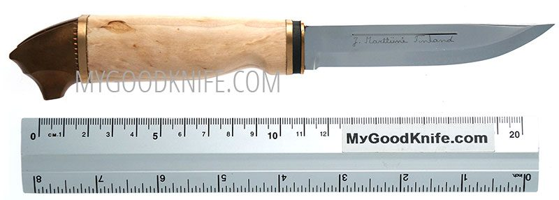 Photo #5 Bear Knife in a wooden gift box Marttiini (549011W)