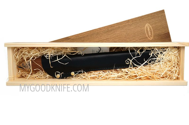 Photo #4 Salmon filleting knife in a wooden gift box Marttiini (552017W)