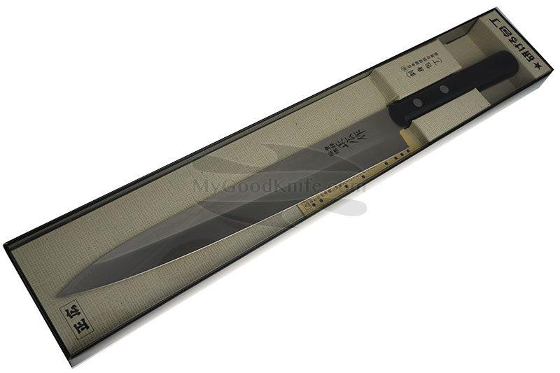 Фотография #4 Японский кухонный нож Янагиба Masahiro для суши ( для левшей ) 10663 24см
