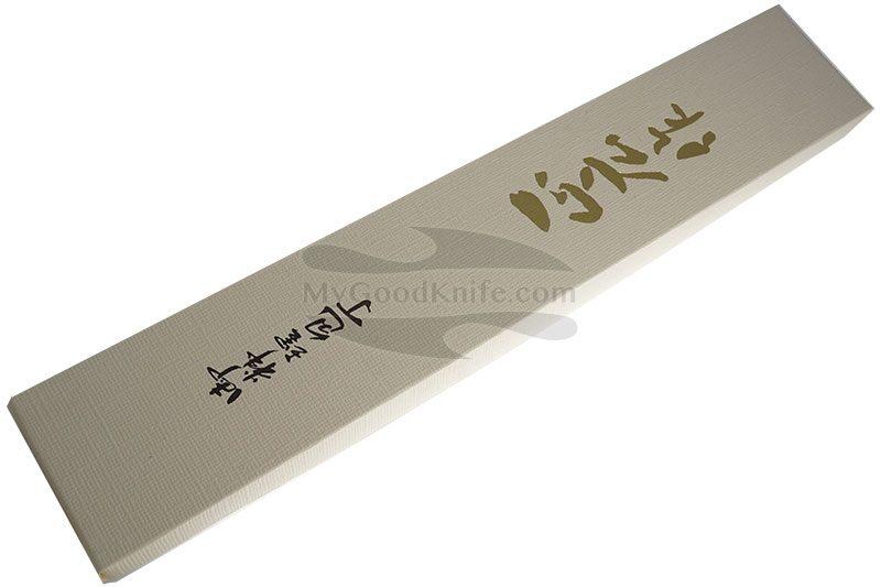 Фотография #5 Японский кухонный нож Янагиба Masahiro для суши ( для левшей ) 10663 24см