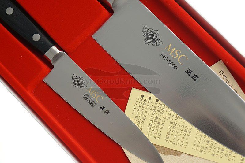 Фотография #3 Набор кухонных ножей Masahiro 2 шт серии MS-3000 11503