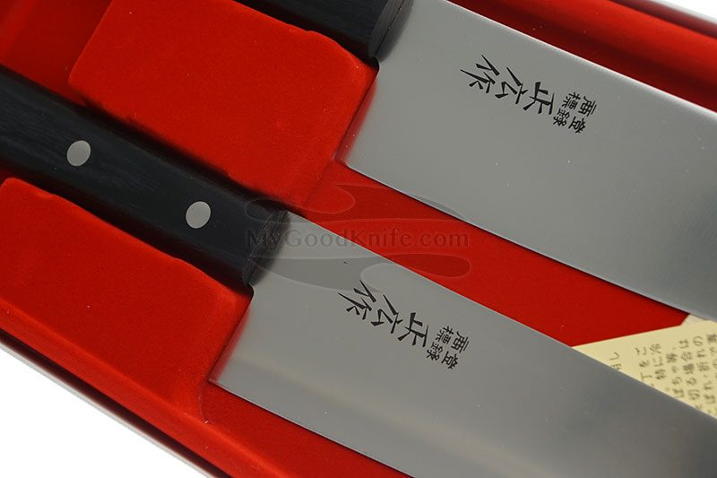 Фотография #2 Набор кухонных ножей Masahiro 2 шт серии LLS  11532