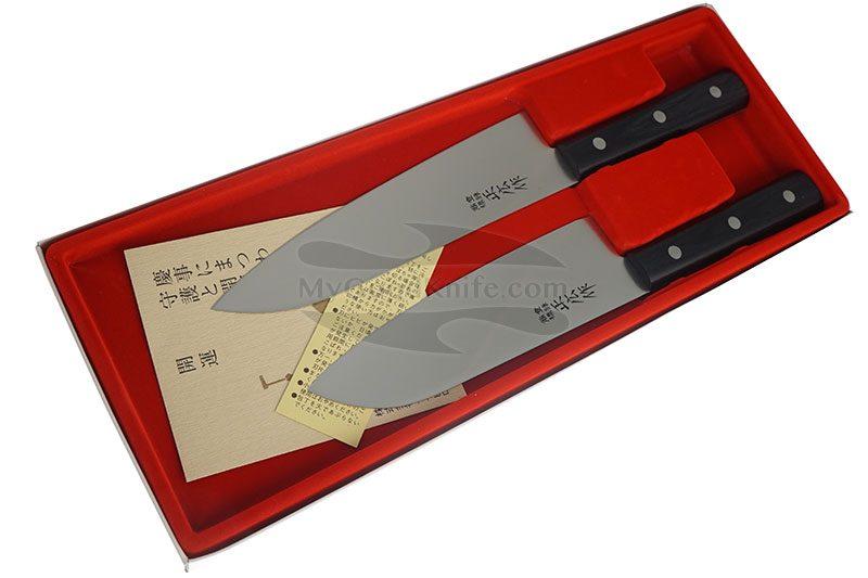 Фотография #3 Набор кухонных ножей Masahiro 2 шт серии LLS  11532