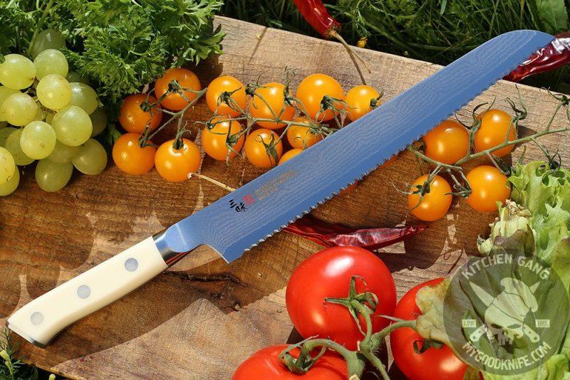 Фотография #1 Нож для хлеба Mcusta Zanmai Classic Damascus HKC-3014D