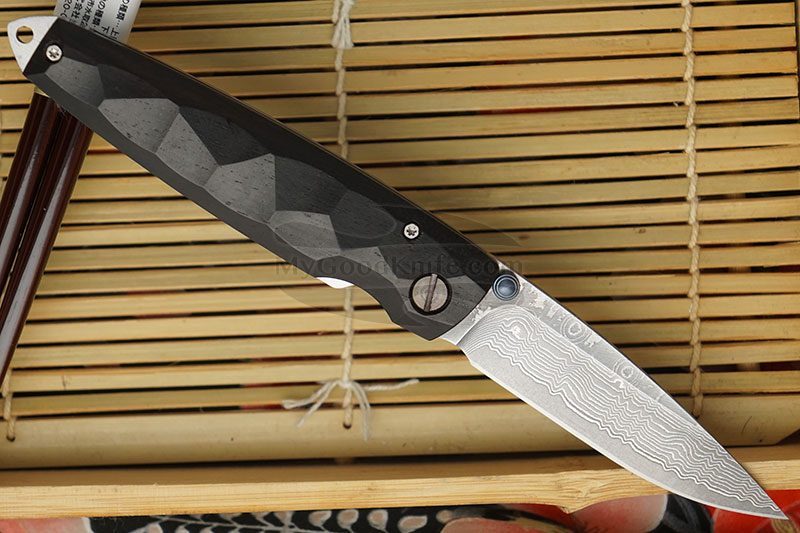 Фотография #2 Складной нож Mcusta Tsuchi Damascus  MC-0079D 7.2см