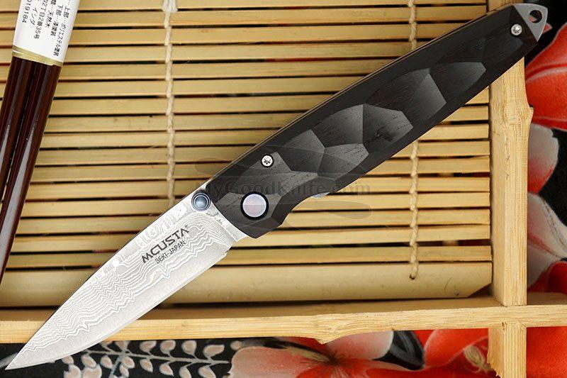 Фотография #1 Складной нож Mcusta Tsuchi Damascus  MC-0079D 7.2см