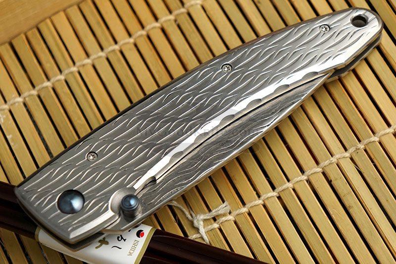 Фотография #3 Складной нож Mcusta Large Nami  MC-0112D 8.5см