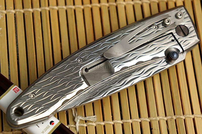 Фотография #4 Складной нож Mcusta Large Nami  MC-0112D 8.5см