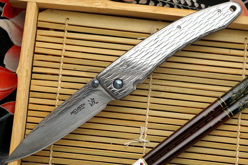 Фотография #1 Складной нож Mcusta Large Nami  MC-0112D 8.5см