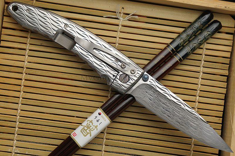 Фотография #2 Складной нож Mcusta Large Nami  MC-0112D 8.5см