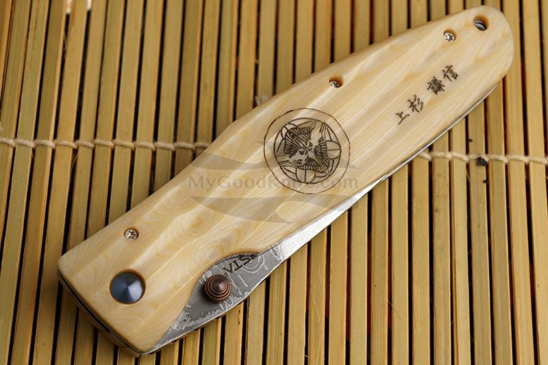 Фотография #4 Складной нож Mcusta Uesugi Kenshin  MC-0185D 8.2см