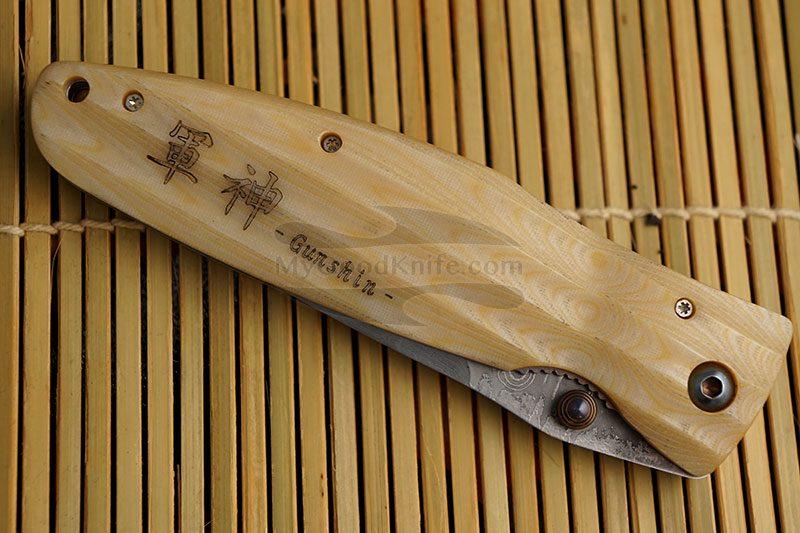 Фотография #5 Складной нож Mcusta Uesugi Kenshin  MC-0185D 8.2см