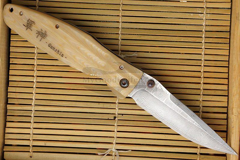 Фотография #2 Складной нож Mcusta Uesugi Kenshin  MC-0185D 8.2см