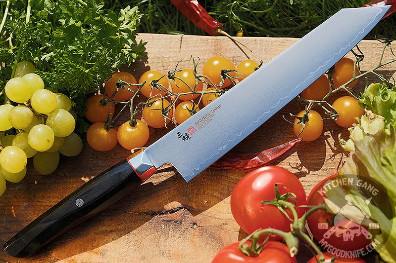 Kiritsuke Japanese Kitchen Knife Mcusta Revolution Spg4