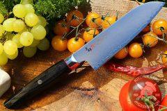 Japanese kitchen knife santoku Mcusta Zanmai Revolution SPG2 Santoku ZRB-1203G
