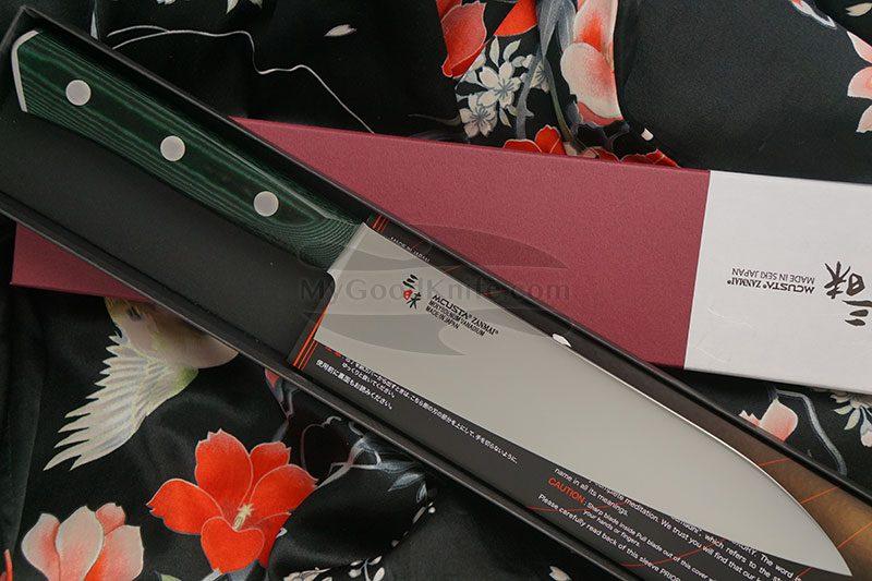 Фотография #1 Японский кухонный нож Гьюто Mcusta Forest HBG-6004M 18см