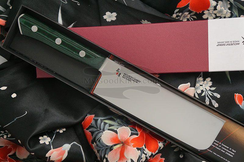 Фотография #1 Японский кухонный нож Накири Mcusta Forest HBG-6008M 16.5см