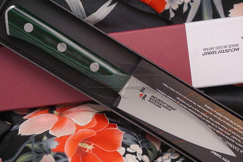 Фотография #1 Овощной кухонный нож Mcusta Forest HBG-6000M 9см