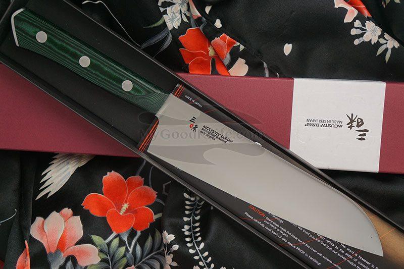 Фотография #1 Японский кухонный нож Сантоку Mcusta Forest HBG-6003M 18см