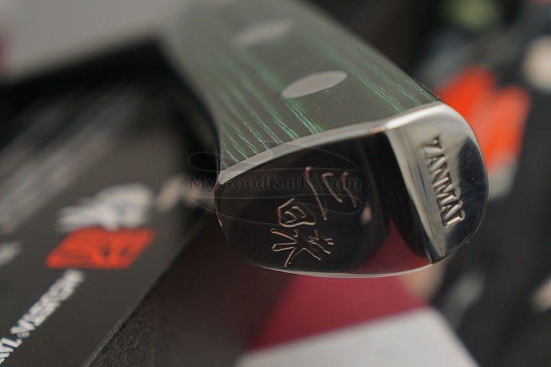 Фотография #2 Японский кухонный нож Сантоку Mcusta Forest HBG-6003M 18см