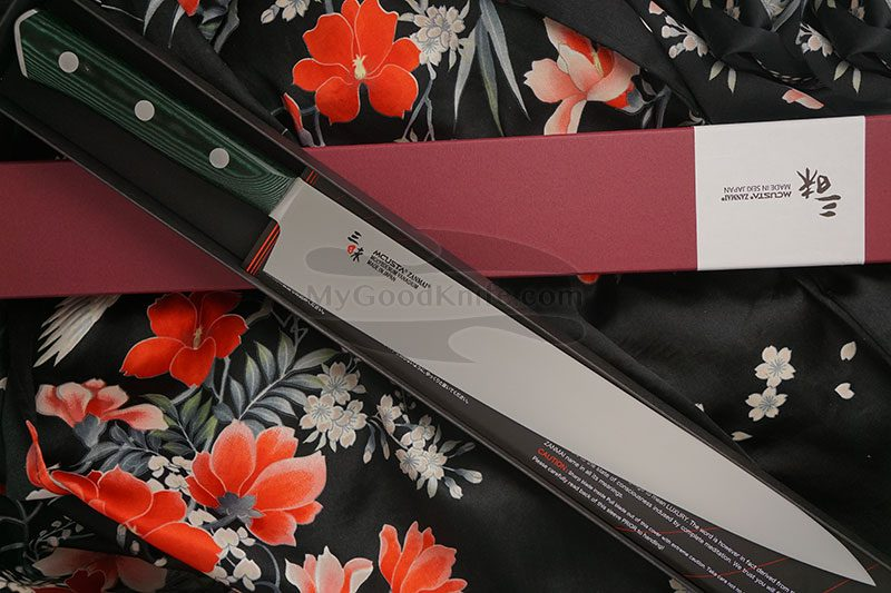 Valokuva #1 Japanilainen viipaloitiveitsi Sujihiki Mcusta Forest HBG-6011M 27cm