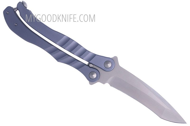 Photo #2 Microtech Metalmark Balisong Aluminum 1707GY