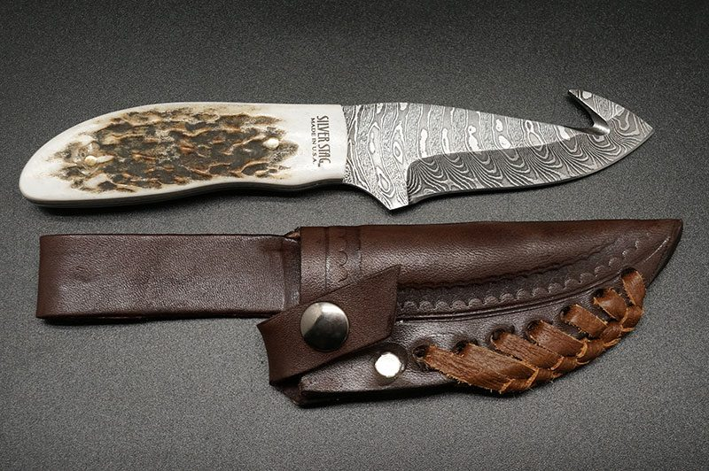 Фотография #6 Silver Stag Gut Twist Damascus