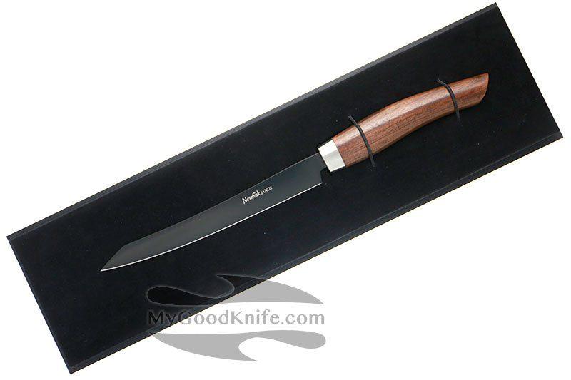 Фотография #2 Nesmuk JANUS 5.0 Нож для тонкой нарезки, Pau Ferro J5PF1602013