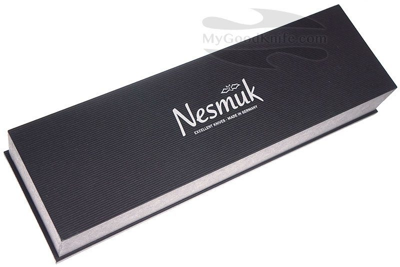 Фотография #3 Nesmuk SOUL Поварской нож, мореный дуб S3M1802012