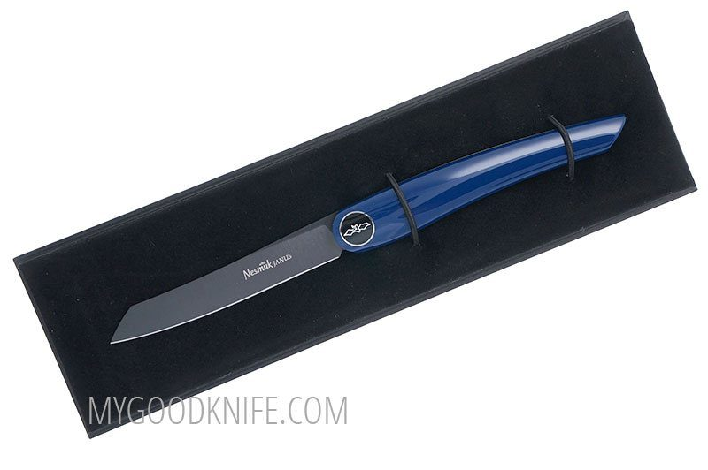 Photo #2 Nesmuk JANUS Folder, Blue Piano Lacquer (FJKB2014)
